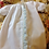 Thumbnail: Day Gown with Blue Fabric Ruffle