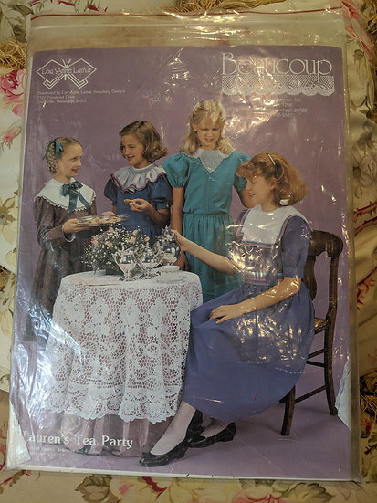 """Beaucoup """"Lauren's Teap Party"""" pattern"""