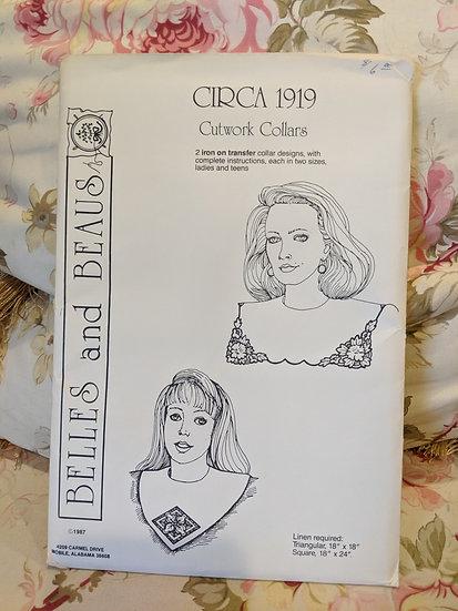 Belles and Beaus Circa 1919 Cutwork Collars pattern