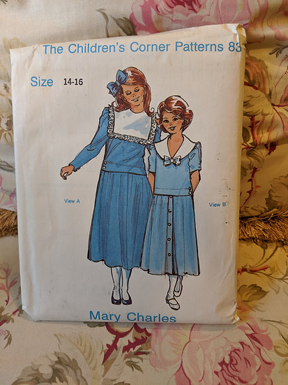 "Children's Corner ""Mary Charles"" pattern"