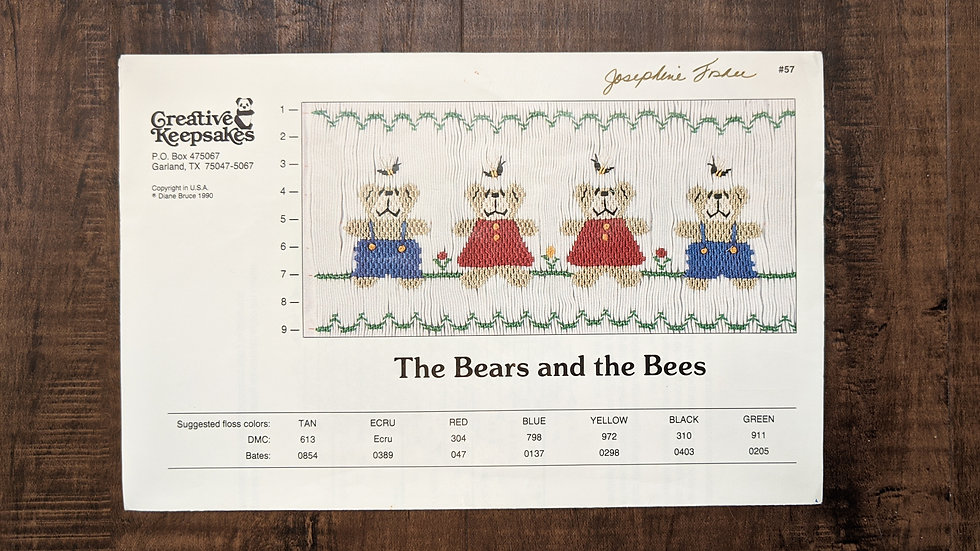 "Creative Keepsakes ""The Bears and the Bees"""