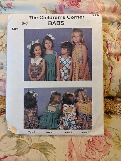 """Children's Corner """"Babs"""" pattern"""