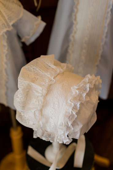 All Lace French Bonnet  ~~ $175