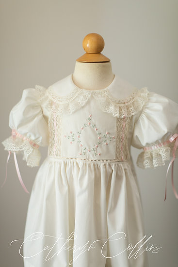 Heirloom Dress with Embroidered Bodice