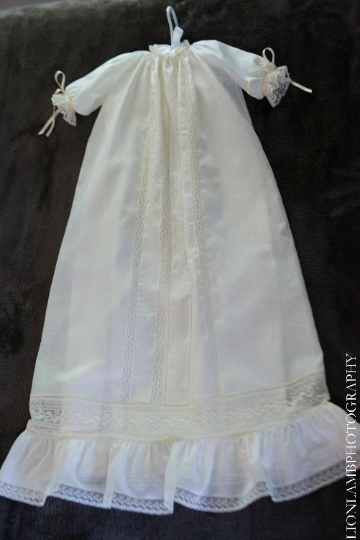 The Annelise Christening Gown  ~~ $595
