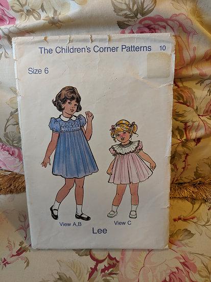"""Children's Corner """"Lee"""" pattern"""