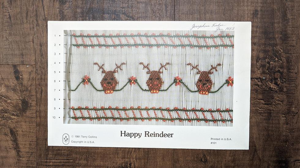 """Terry Collins """"Happy Reindeer"""""""