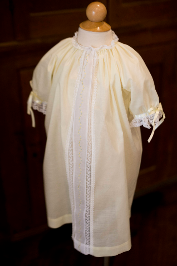 Pale Yellow Vintage Day Gown