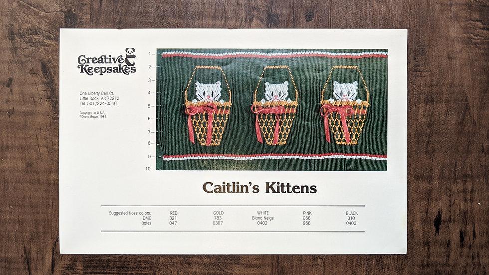 """Creative Keepsakes """"Caitlin's Kittens"""""""
