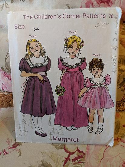 """Children's Corner """"Margaret"""" pattern"""