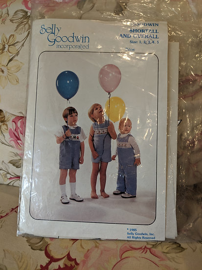 "Selly Goodwin ""Shortall and Overall"" pattern"