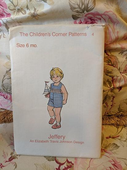 "Children's Corner ""Jeffrery"" pattern"