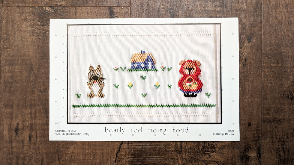 "Little Memories ""Bearly Red Riding Hood"""