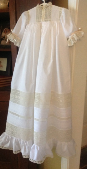 The Cecily Christening Gown  ~~ $795