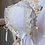Thumbnail: T-cap Bonnet with Pin Tucks and French Maline Lace
