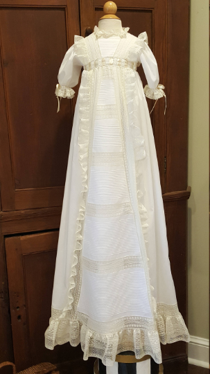 The Gwynn Christening Gown ~~ $1395