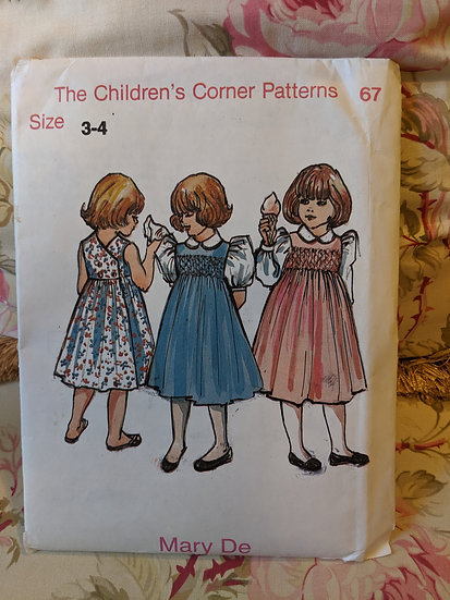 "Children's Corner ""Mary De"" pattern"