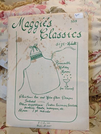 Maggie's Classics #339 (Kitchen Apron) pattern