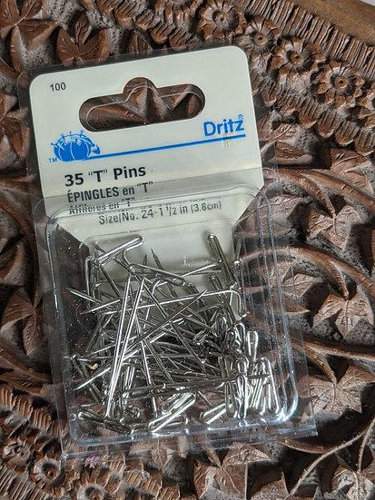 """Ditz """"T"""" Pins"""
