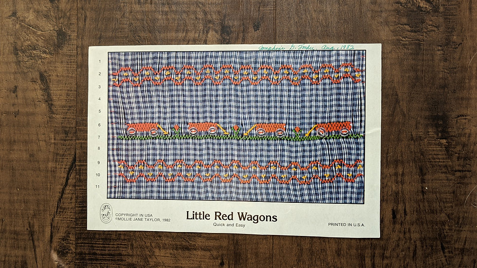 """Mollie Jane Taylor """"Little Red Wagons"""""""