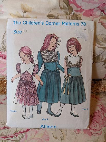 """Children's Corner """"Allison"""" pattern"""