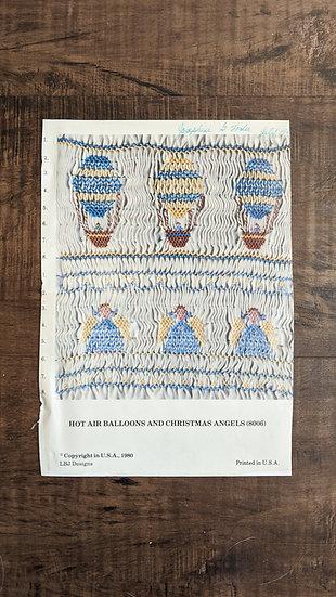 "LBJ Designs ""Hot Air Balloons and Christmas Angels"""