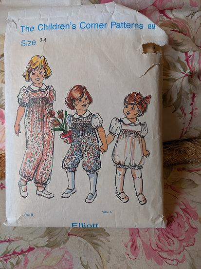 "Children's Corner ""Elliott"" pattern"