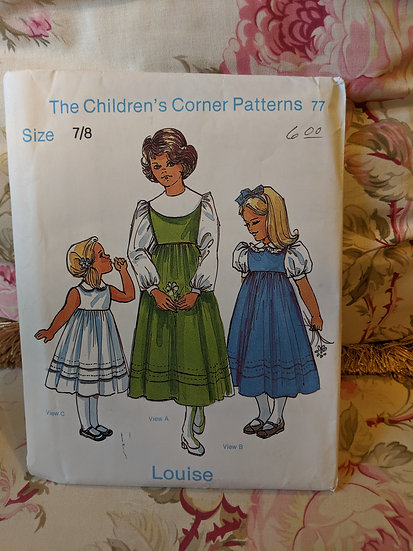 """Children's Corner """"Louise"""" pattern"""