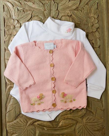Little English Pink Sheep Sweater