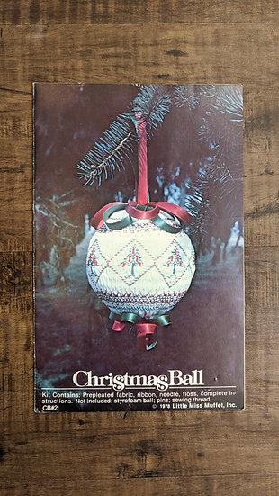 """Little Miss Muffet """"Christmas Ball"""" #2"""