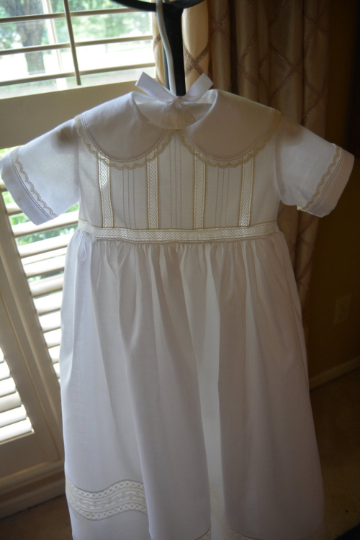 The Blake Christening Gown ~~ $875