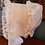 Thumbnail: Double Ruffled Bonnet with Drawstring Back and Fabric Streamers