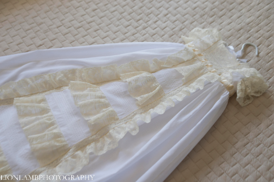 The Mia Christening Gown  ~~ $1195