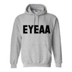 Grey EYEAA Hoodie –Coming Soon!