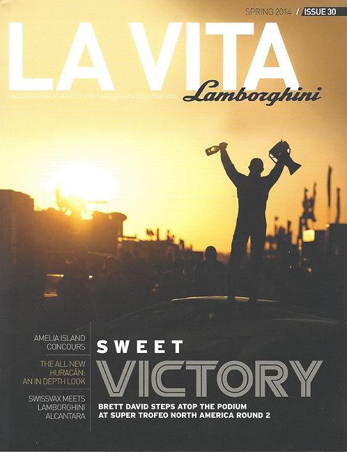 Issue 30 of La Vita Lamborghini