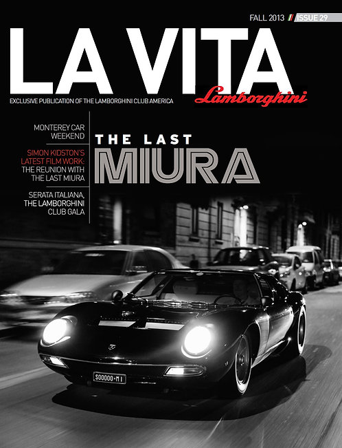Issue 29 of La Vita Lamborghini