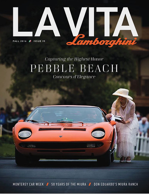 Issue 35 of La Vita Lamborghini