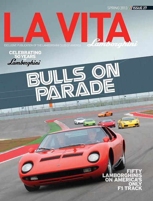 Issue 27 of La Vita Lamborghini