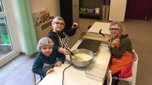 Atelier de cuisine de la Chandeleur
