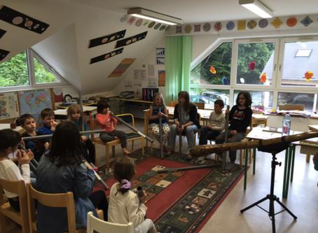 Découverte et apprentissage du didgeridoo
