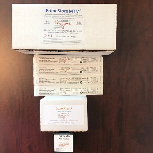PrimeScreen TB Kit (Developed World Pricing)