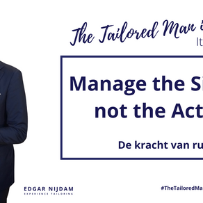 Manage the Silence, not the Action.