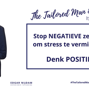 Stop NEGATIEVE zelfpraat om stress te verminderen, denk POSITIEF in 7 eenvoudige principes.