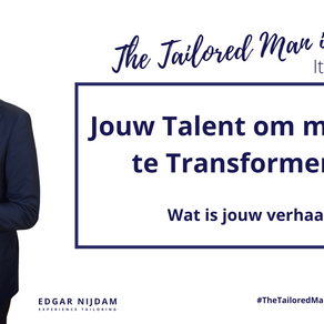 Jouw Talent om mensen te Transformeren.