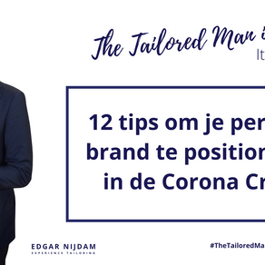 12 tips om je personal brand te positioneren in de Corona Crisis