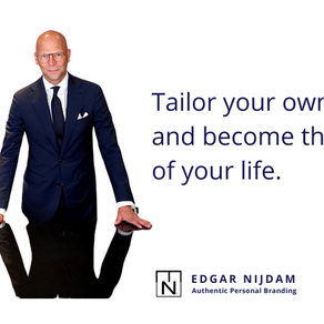Tailor your own brand and become the CEO of your life.