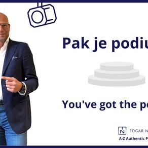 Pak je Podium .... you've got the power.
