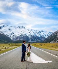 Epic Prewedding Photoshoot in New Zealand