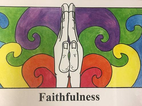 Faithfulness Song Cards