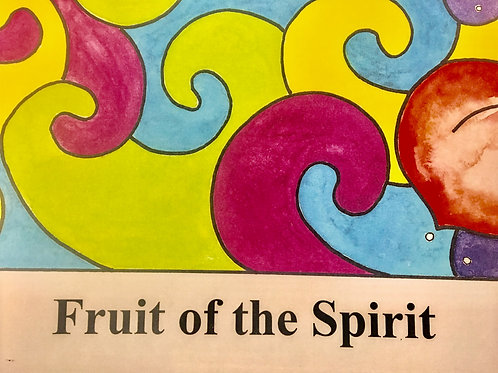 Fruit of the Spirit Song Card Package